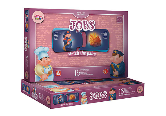Joc educational Jobs (Meseriile)